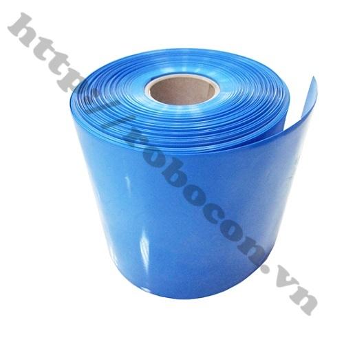 Màng Co Nhiệt PVC Cách Điện Bọc Cell Pin 18650- 150mm