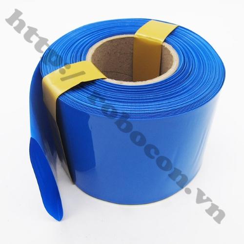 Màng Co Nhiệt PVC Cách Điện Bọc Cell Pin 18650- 95mm