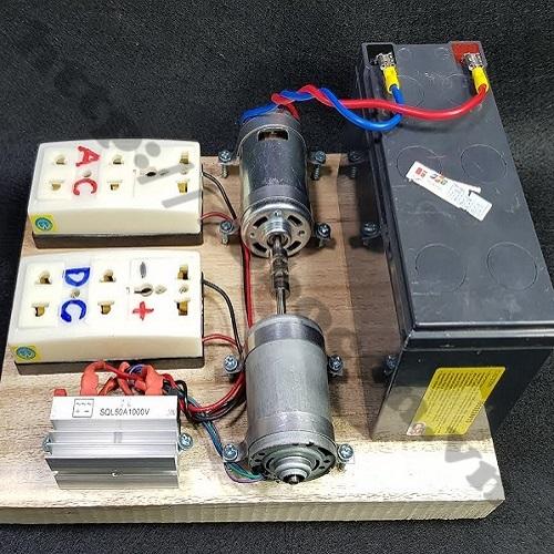 CBM61 Bộ DIY Chế Máy Phát Điện Mini Từ Động Cơ 775