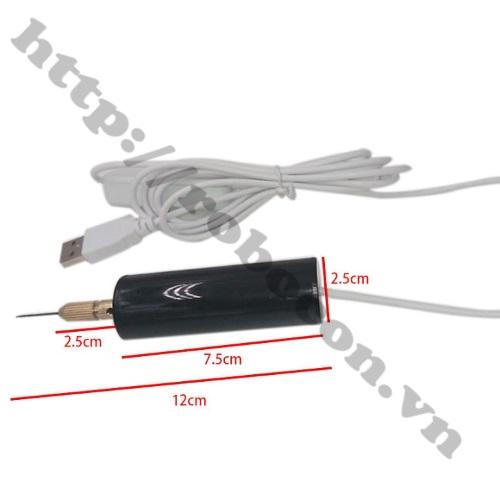 PKK466 Máy Khoan Mini Cổng USB 5V- 18W