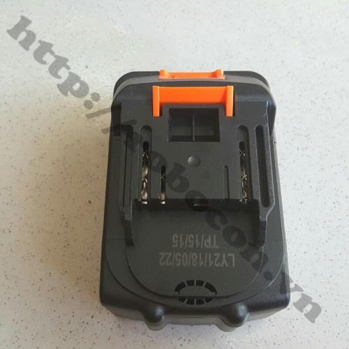 Mạch Sạc Và Bảo Vệ Pin 18V 5S 15A Chế Pin Máy Khoan sử dụng chế pin máy khoan, máy cưa 18V, 21V
