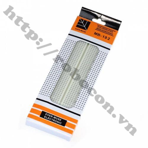 PCB18 Board Test MB-102 – 830 Lỗ - 16.5x5.5cm