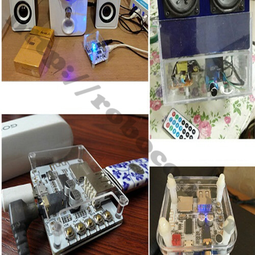 MDL166 Module Audio Khuếch Đại Âm Thanh Bluetooth Có Điều Khiển Từ Xa