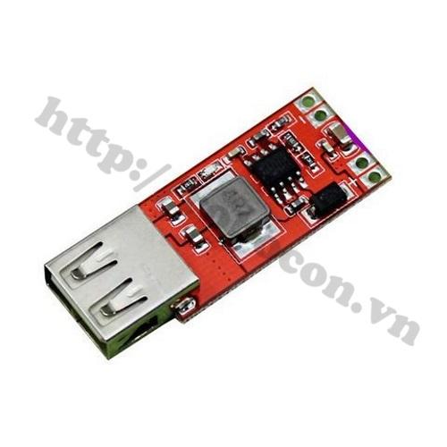 MDL92 Module Mạch Buck Hạ Áp 9V-12V-24V Xuống 5V cổng USB