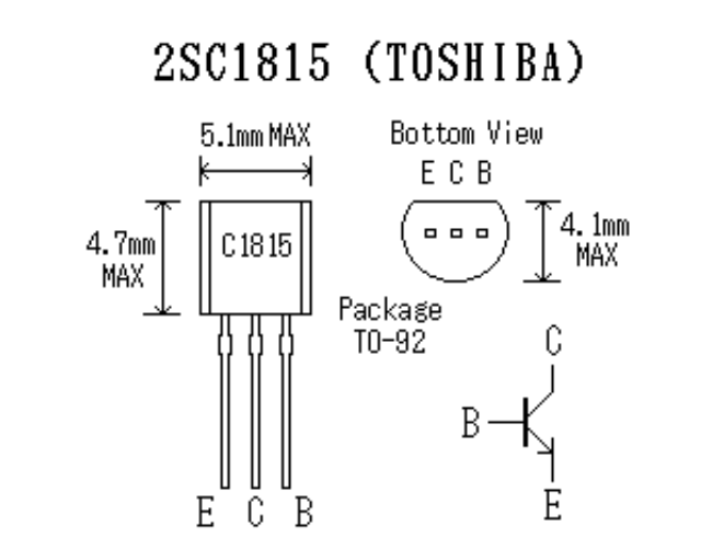 Transistor Voltage besides Capacitor Manufacturers besides Diagrama Transistor Bc547 together with C1815 NPN Plastic Encapsulate Transistor TO 1612366930 furthermore C1815 Datasheet PDF DC  ponents. on c1815 transistor datasheet