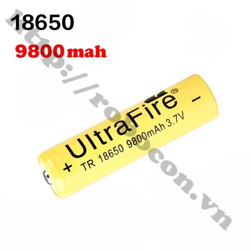 Pin Sạc Ultrafire 3.7V 18650 9800mah