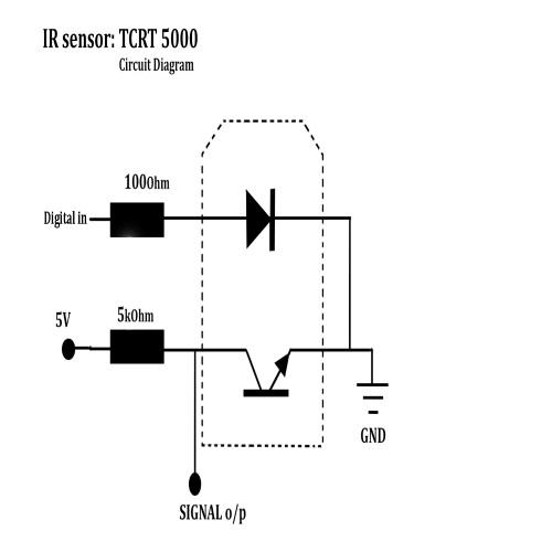 CB05 Cảm Biến Hồng Ngoại TCRT5000