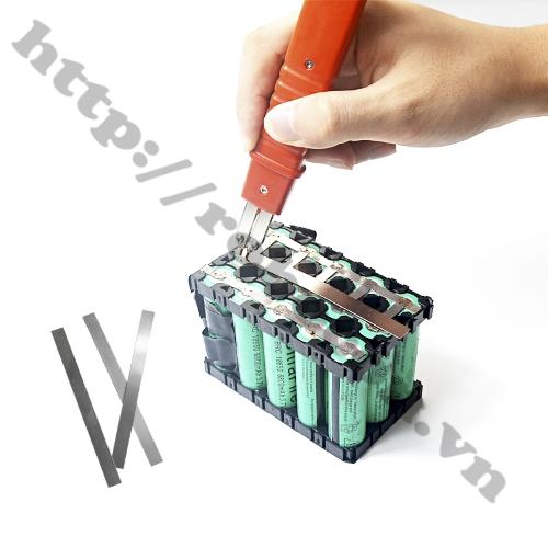 Kẽm Hàn Cell Pin 0.15*8mm sử dụng để hàn cell