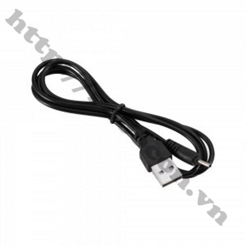 PKAT66  Dây cáp chuyển đổi USB sang đầu NOKIA chân nhỏ