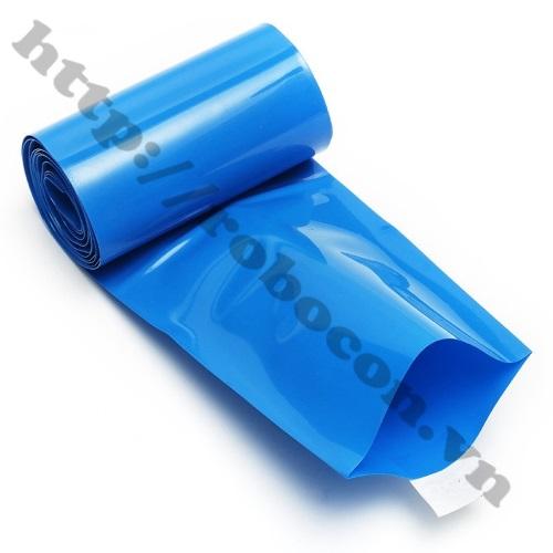 PPKP89 Màng Co Nhiệt PVC Cách Điện Bọc Cell Pin 18650- 60mm