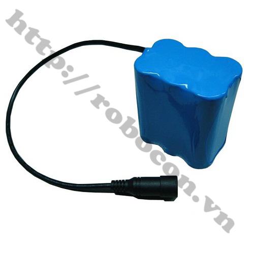 Pin Robocon V1-Pin Sạc Lithium 3S 18650 11.1V-12.6V 2000mah