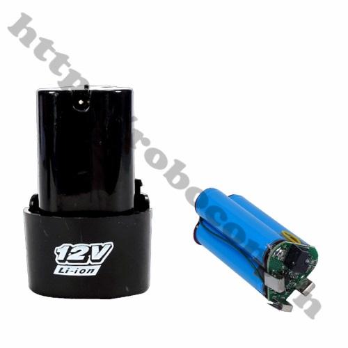 Mạch Sạc Và Bảo Vệ Pin 3S 12V Chế Pin Máy Khoan sử dụng chế pin 12v cho máy khoan