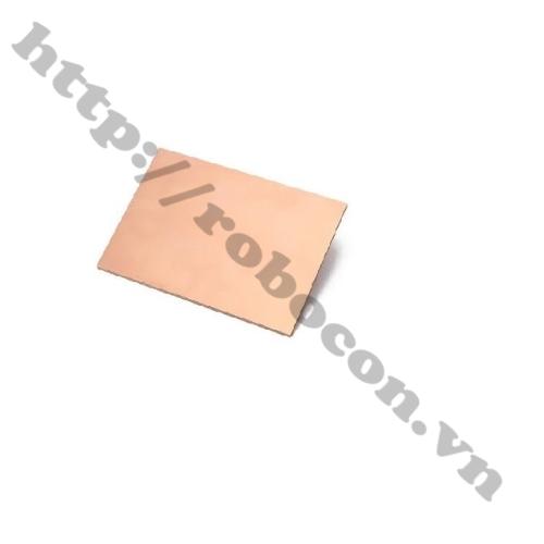 Phíp Đồng Thủy Tinh Một Mặt FR4-7x10cm