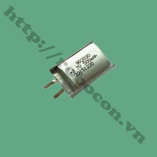 PPKP46 Pin Sạc Lithium 902030 3.7V - 1.85Wh - 500mAh