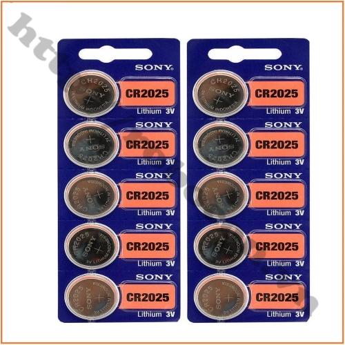Pin CR2025 Sony Lithium 3V