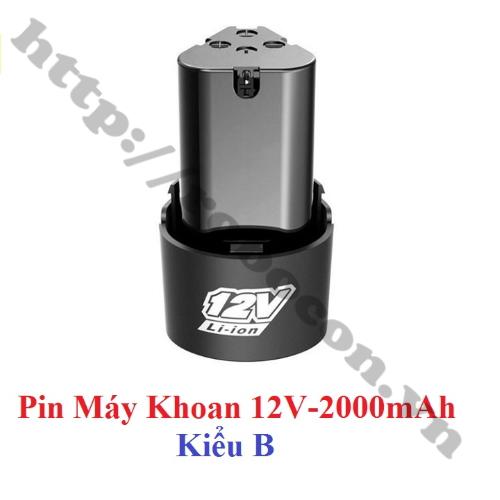 Pin Sạc 12V-2000mAh
