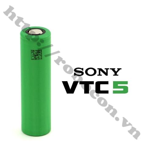 Pin Sony 18650 VTC6 2600mAh Dòng Xả 25A
