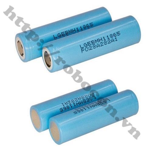 PPKP51 Pin LG GB 18650MH1-3200mAh-10A (Xanh Ngọc)