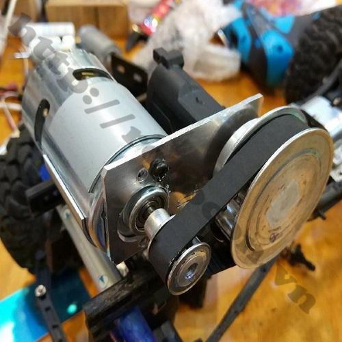 CBM50 Bộ Pulley Bánh Răng XL Trục 5mm  Tỷ Số Truyền 1:3