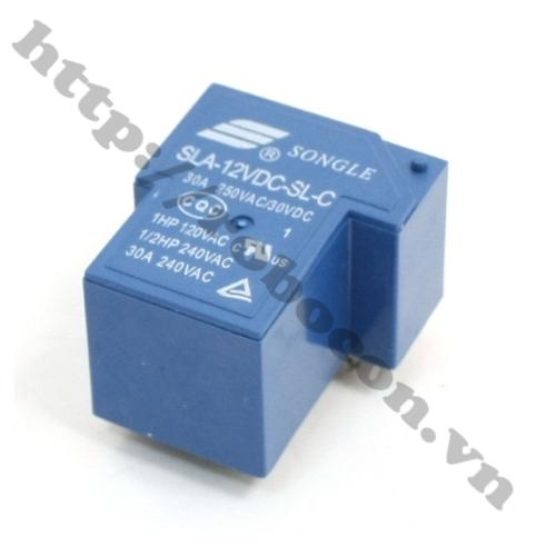 Relay 12VDC-30A SLA-12VDC-SLC 5 Chân
