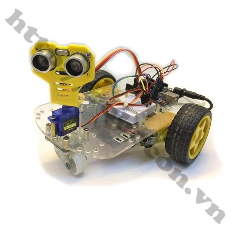 Bộ Combo Xe Robot Thông Minh Tránh Vật Cản