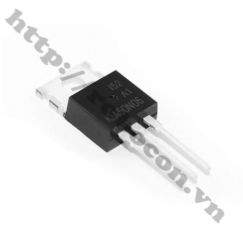 Mosfet 50N06 To220 N-CH 60V 50A