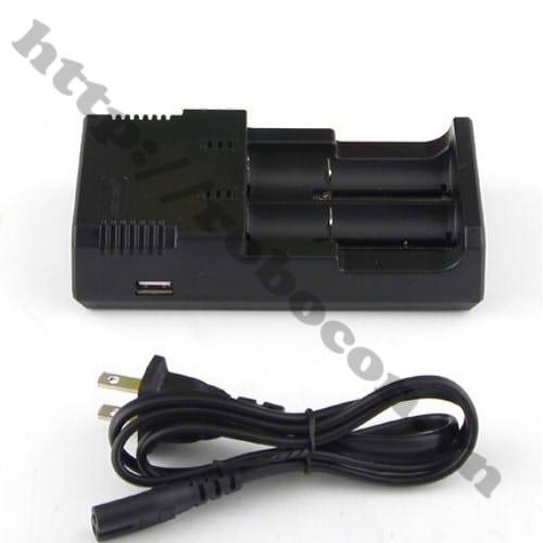 PPKP43 Bộ Sạc 2 Pin Lithium 26650-18650-14500-16340