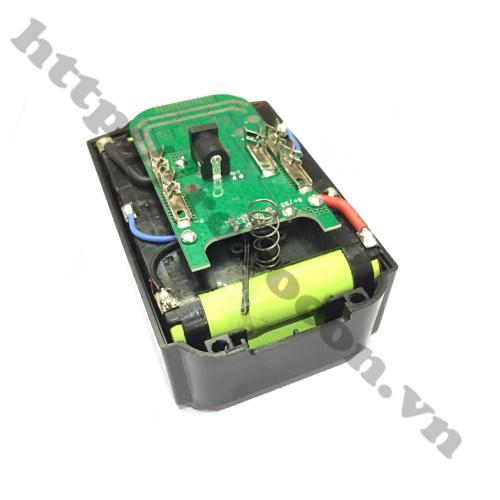 CBM165 Pin Sạc Cho Máy Khoan, Máy Mài Makita 5S 2P 21V Dùng Pin Lishen Xả 20A