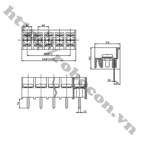Domino HB9500 - 5 Chân