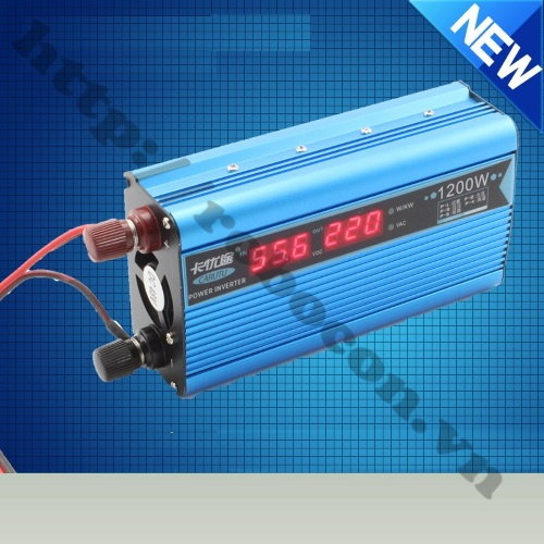 MDL214 Bộ Chuyển Đổi Điện Inverter 12V DC Lên 220V-1200W