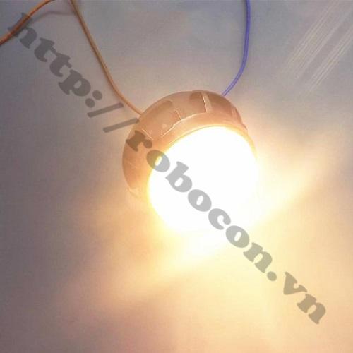 LED109 Đèn LED Philip 220V 3W ánh sáng vàng