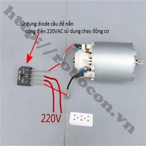 PKK497 Động Cơ Phát Điện 220VDC 300W