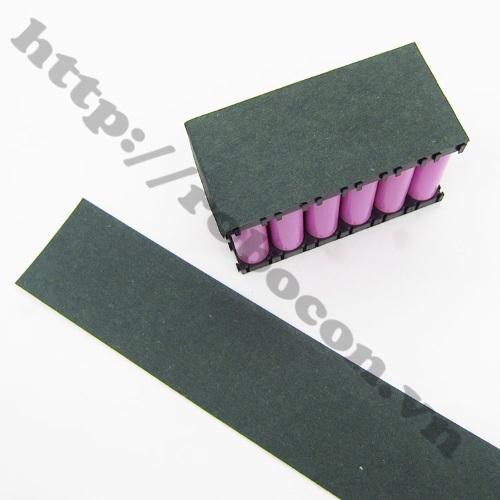PPKP88 Giấy Dán Cách Điện, Cách Nhiệt Đóng Cell Pin 18650 Bản 65mm (1 mét)