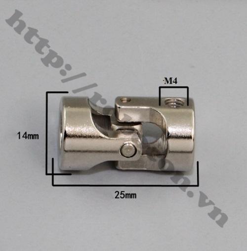 Khớp Nối Các Đăng 6mm - 8mm