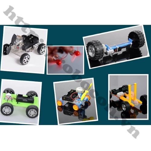 LKRB29 Bộ Phụ Kiện Bánh Răng, Bánh Xe Robot 78 Chi Tiết