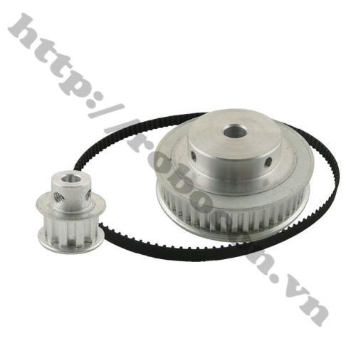 http://robocon.vn/files/timing-pulley-xl-reduction-10teeth-50teeth-gear-kit-set-ratio-1-5-5-1-shaft-center-1530091307-1566551273.jpg