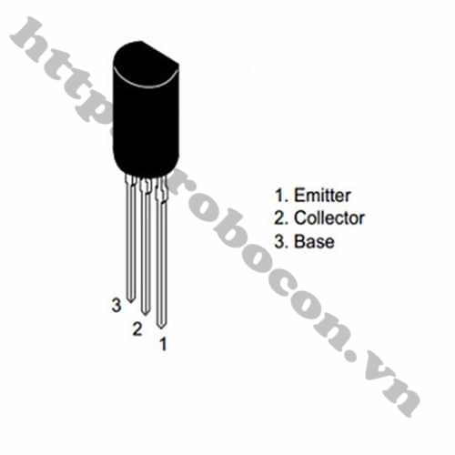 Transistor C2655- 2A 60V TO-92L