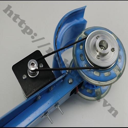 CBM46 Bộ Pulley Bánh Răng Tỷ Số Truyền 1:4 Cho Xe Scooter Điện