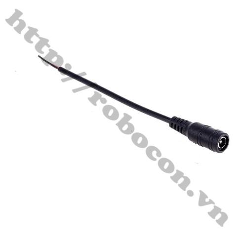 CO223 Dây Nguồn DC Cái 5.5x2.1mm