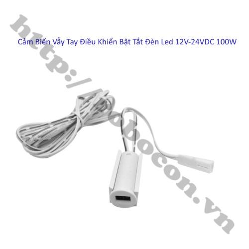 Công Tắc Cảm Biến Vẫy Tay Điều Khiển Bật Tắt Đèn Led 12V-24VDC 100W
