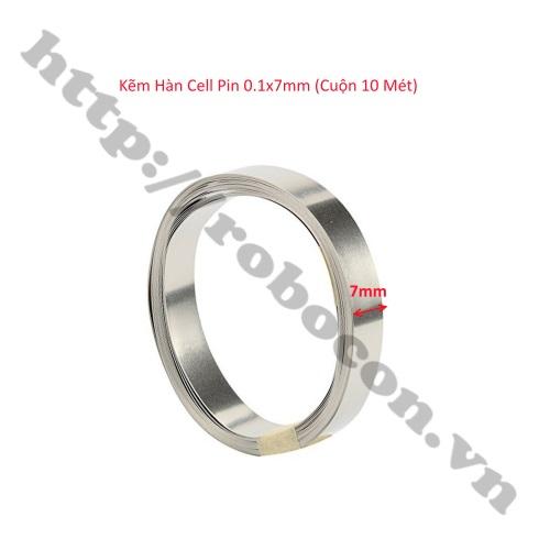 Kẽm Hàn Cell Pin 0.1x7mm