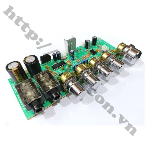 MDL345 Mạch Echo Khuếch Đại Micro Karaoke Tạo Vang PT2399 - OK339