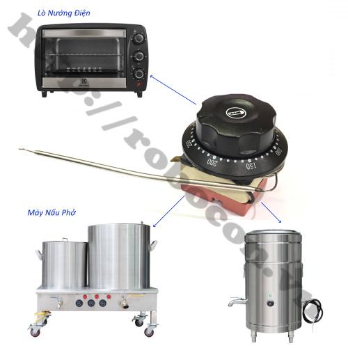 bộ điều khiển được dùng trong các loại lò nướng điện, lò vi sóng, nồi nấu phở,...