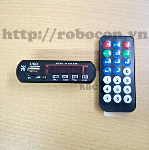 MDL61 Mạch giải mã  MP3 - Đài MF