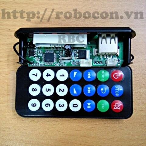 MDL61 Mạch giải mã  MP3 - Đài MF.