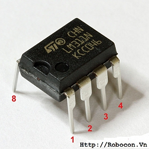IC9 IC so sánh LM311 (DIP)