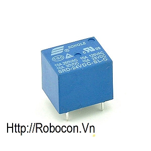 RE3 RELAY 24V 5 CHÂN SRD-24VDC-SL-C