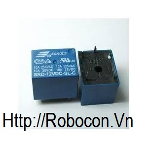 RE2 RELAY 12V 5 CHÂN SRD-12VDC