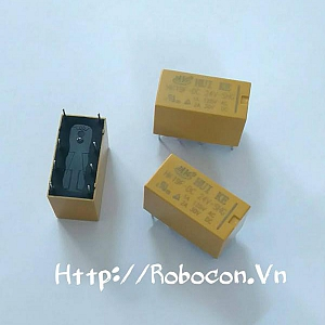 RE6 Relay HK19F-DC-24V-SHG