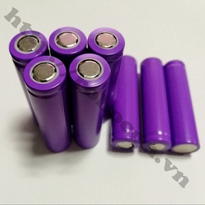 PPKP49 Pin Sạc Lithium 18650 - 3.7V 800mAh (Tím Than)